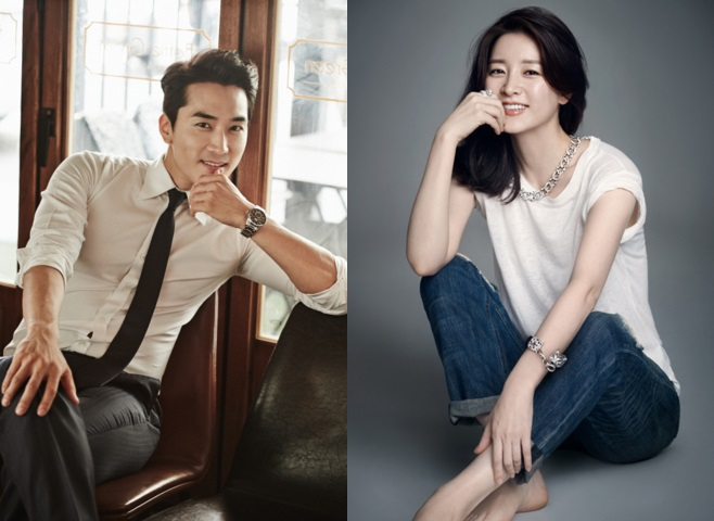 Lee Young Ae y Song Seung Heon pareja en dorama