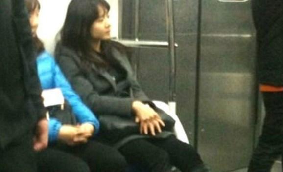 Moon Geun Young en metro