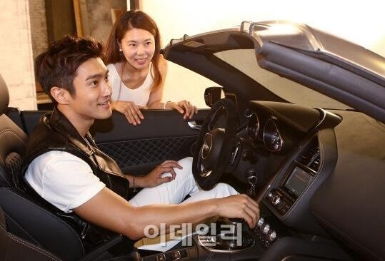 Siwon coche