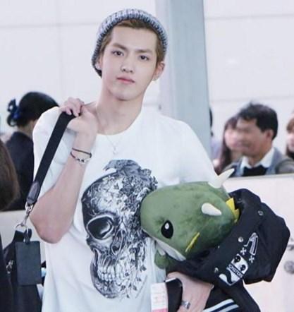 Kris en aeropuerto