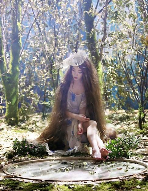 IU diosa del bosque