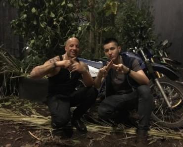 Vin Diesel con Kris de Exo