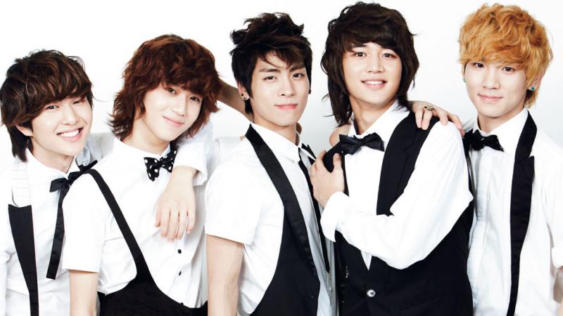 SHINee kpop idolos