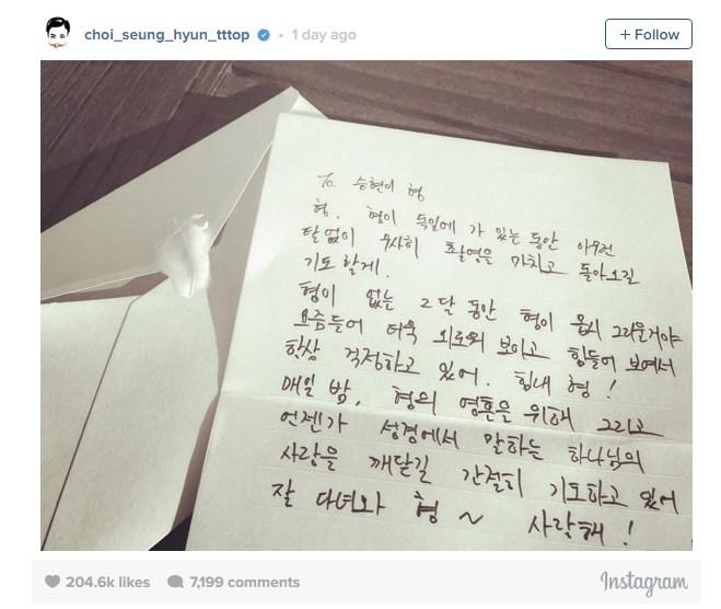 carta de taeyang a top