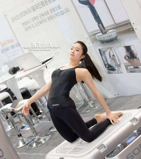 yoga coreano viral