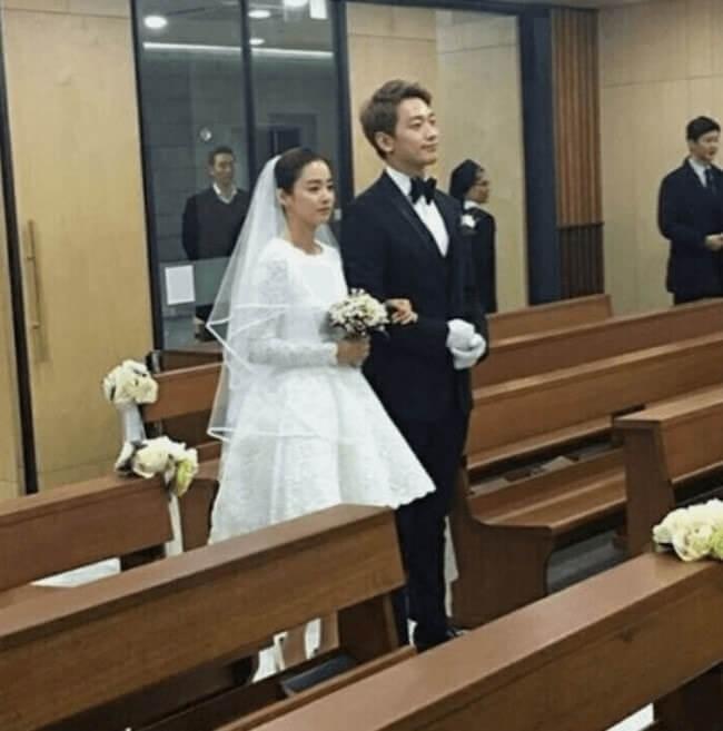 boda de kim y rain en Gaoe