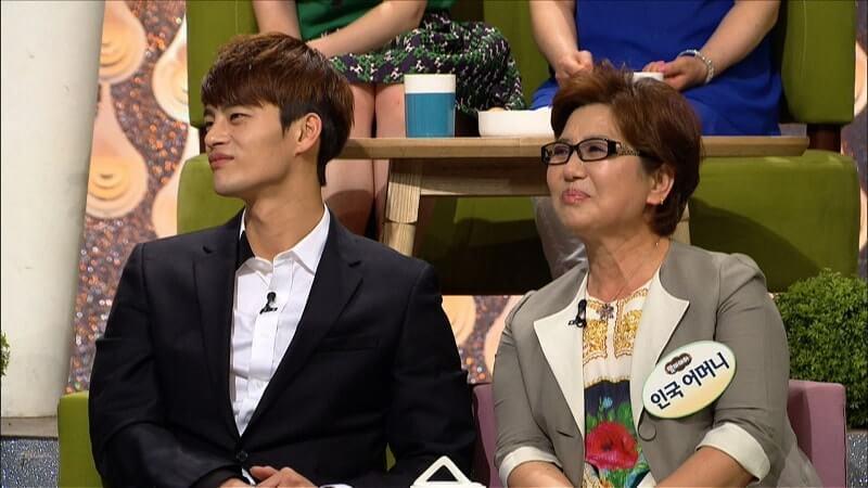 seo in guk con su madre