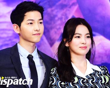 Song Joong Ki y Song Hye Kyo boda