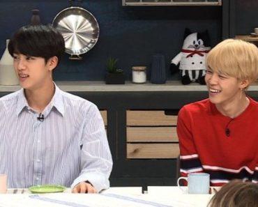 BTS Jin y Jimin